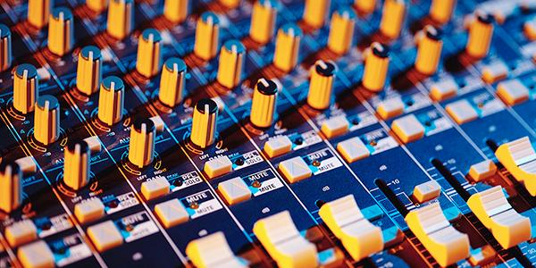 voice over recording desk