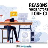 Voice Actor Lose Clients