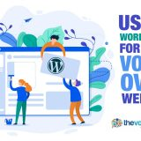 wordpress for voice over website