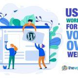 wordpress for voice over website