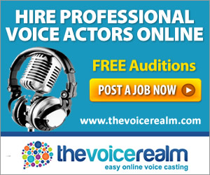 The Voice Realm – Voice Over Website for Casting Voice Talent